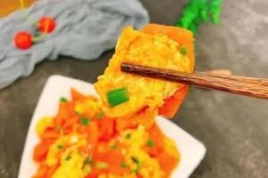 西红柿炒蛋先炒蛋仍是先炒西红柿多数人次序弄错难怪不好吃