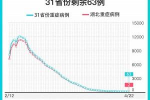 仅余2例湖北省新冠肺炎重症病例降至个位数